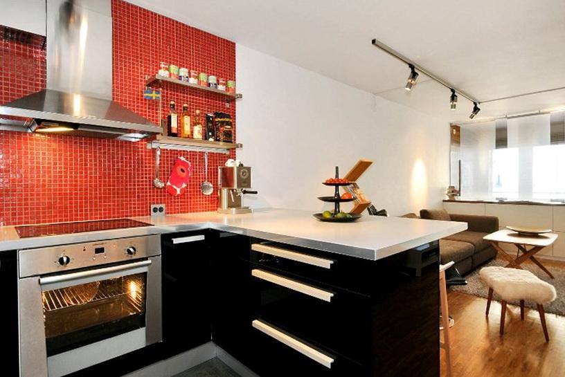 5-kitchen in brown