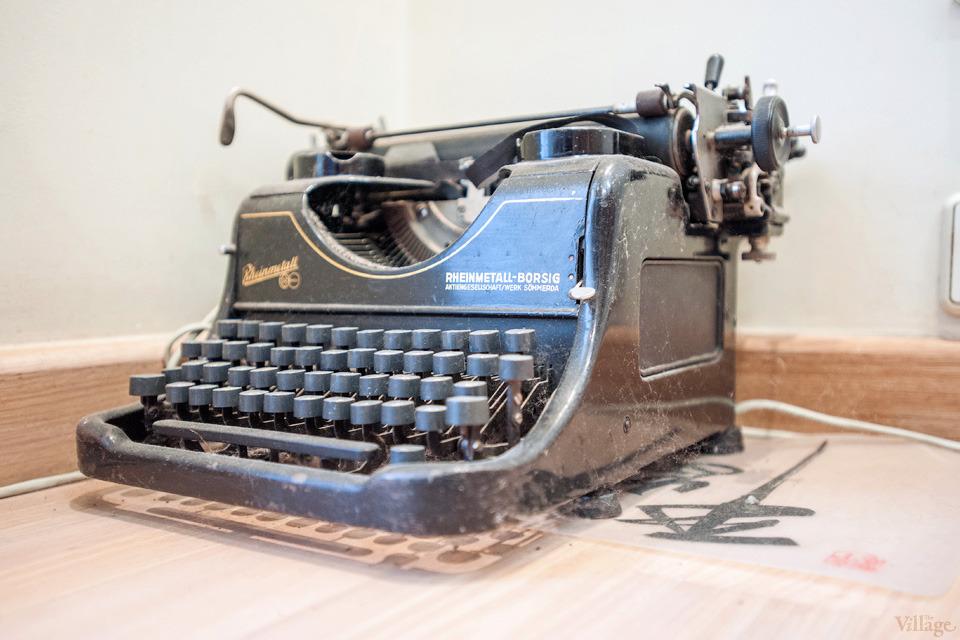 51-antique printing machine