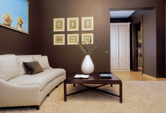 Living Room Color Schemes Chocolate Brown Couch Nomadiceuphoria Part 76