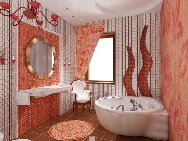 7-orange bathroom