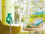 Beautiful living room turquoise