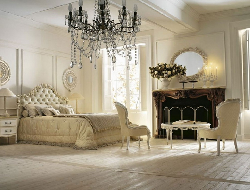 10 bedrooms in the Romantic style Home Interior Design