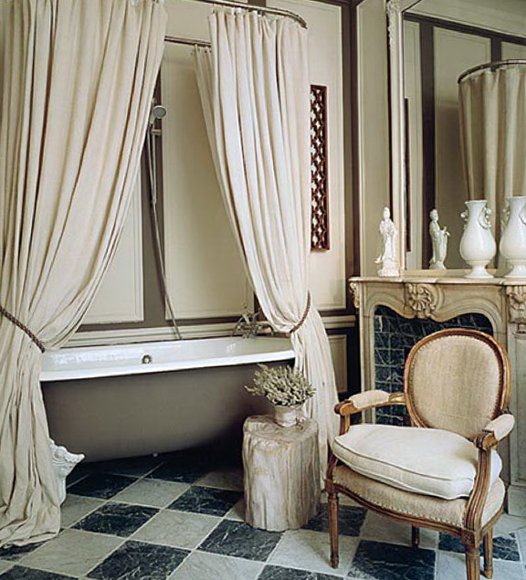 Tartan Bedroom Accessories Bedroom Vintage Decorating Ideas Bedroom Curtains Inspiration Bedroom Furniture Latest Designs: The Bathroom In The French Style