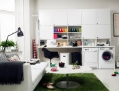 10 Modern home laundry room