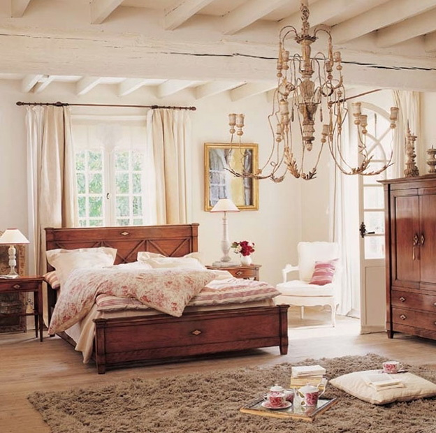 9-bed of wood