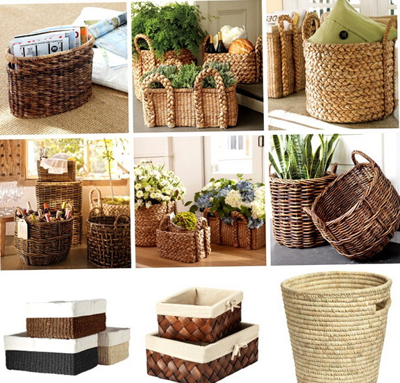 1 A Beautiful Picture Of Wicker Baskets For