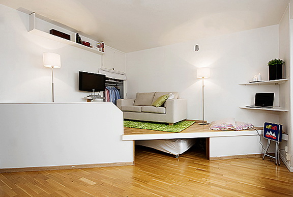 Beds For Small Apartments the small and cozy apartment in sweden | home interior design