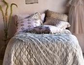 The bedroom in the style of Shabby Chic