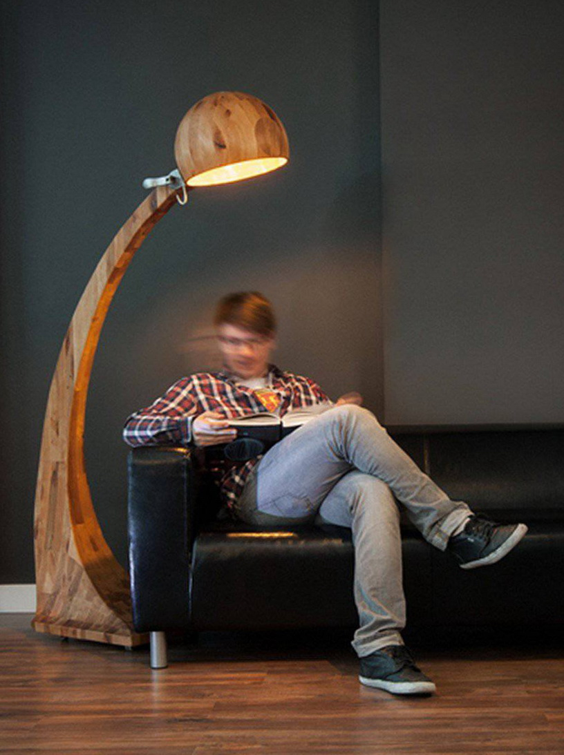 "Wooden Lamps  ""Woobie "" from ABADOK."