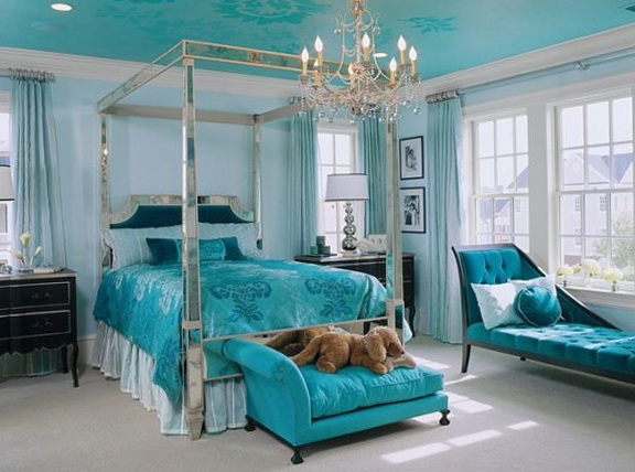 40 amazing bedrooms in turquoise color home interior design kitchen
