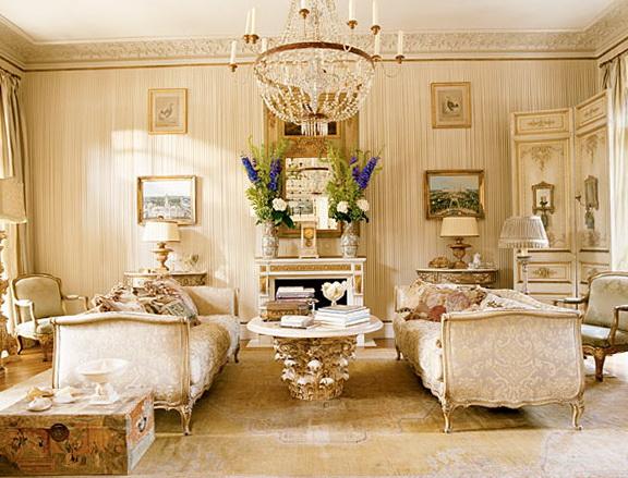 The apartt interior in golden color   Home Interior Design ...