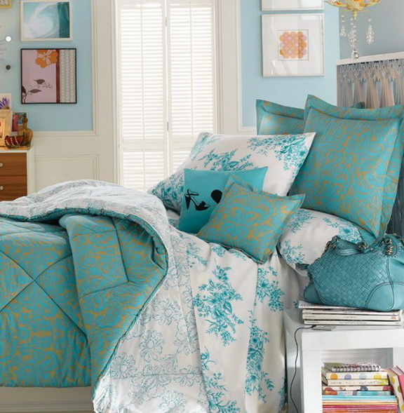 40 Amazing Bedrooms In Turquoise Color