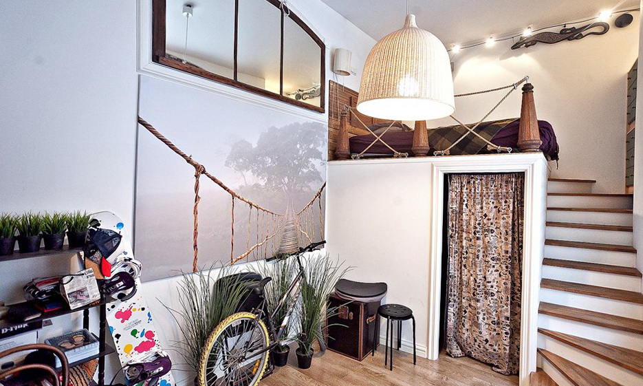 21-loft bed
