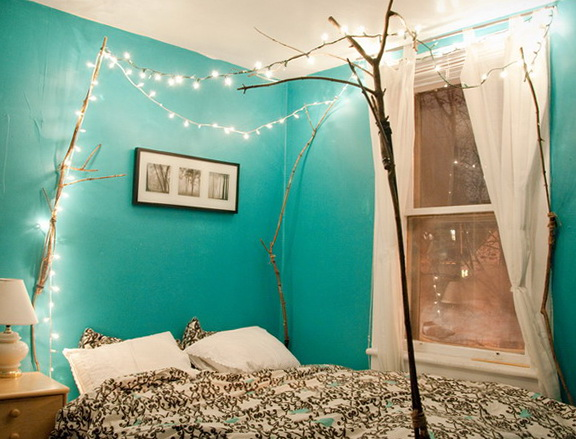 40 amazing bedrooms in turquoise color | Home Interior ... - photo#47