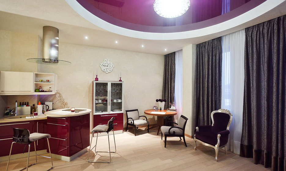 Studio Apartment Furnished With Eclectic Items And