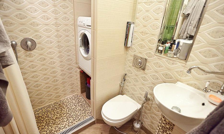 Ремонт ванной с туалетом комнаты
