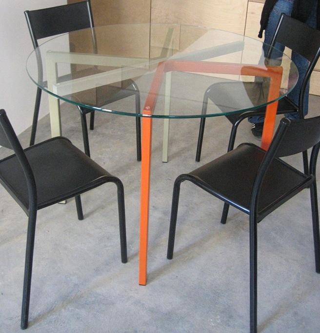 4-transparent table