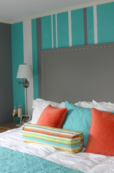 40 Amazing Bedrooms Turquoise Color Very Elegant