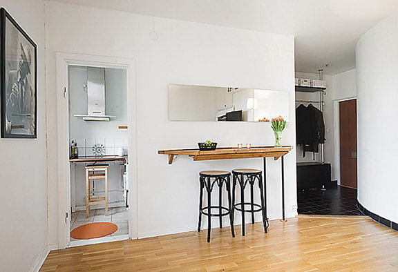 The Small And Cozy Apartment In Sweden Home Interior