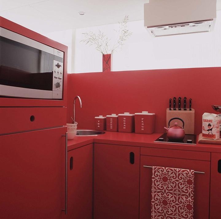 5-red kitchen