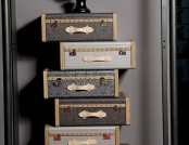 Suitcase furniture collection from Emmanuelle Legavre
