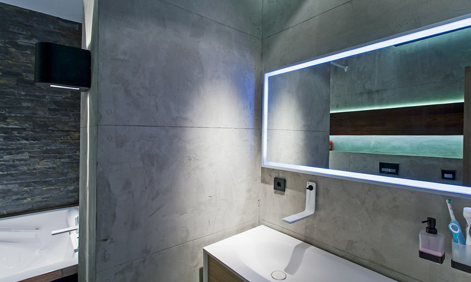 91-illuminated mirror