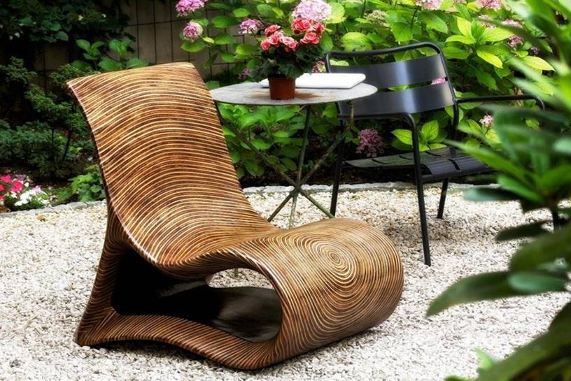 Comfortable Wooden Chair Home Interior Design Kitchen