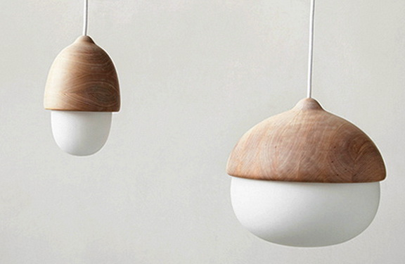 The Acorns In The Interior And Beautiful Lamps Home