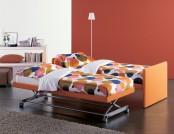 Are comfortable folding bright sofas