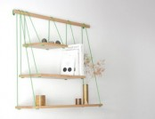 Beautiful and stylish, light shelf