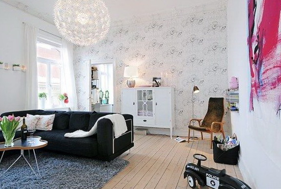 Beautiful Swedish Apartment Home Interior Design Kitchen And - Sleek-and-beautiful-apartment-in-sweden