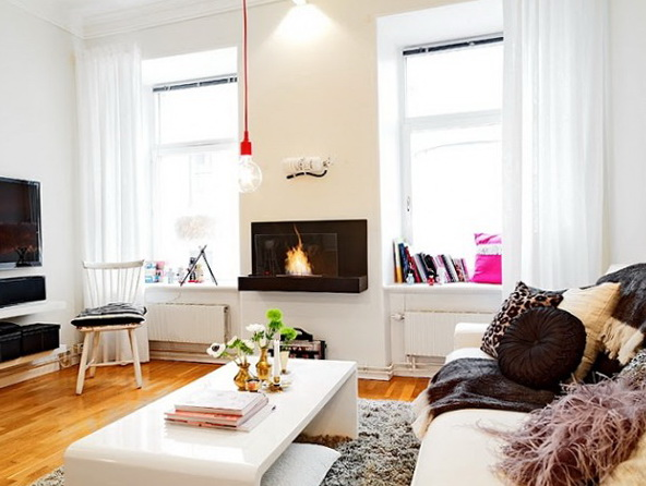 3-Living in the bright Scandinavian style