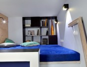 One bedroom apartment with interesting details