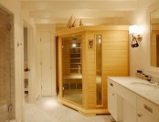 Comfortable apartment in the sauna