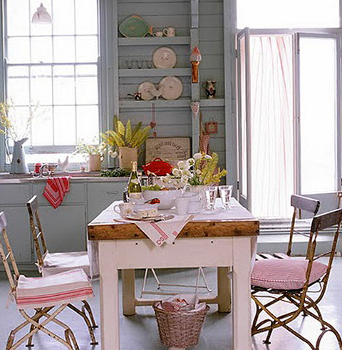 5-narrow dining table
