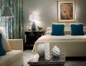 Glamour style in the interior