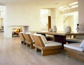Style of Feng Shui in interior of the apartment