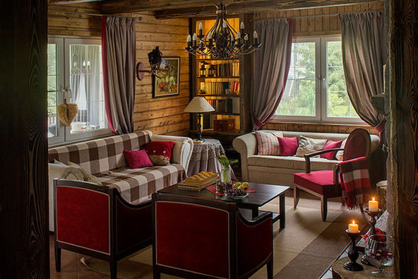 Sala De Estar Estilo Vintage ~ Magnificent house in Scandinavian style  Home Interior Design