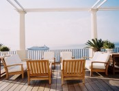 The beach and marine interior style