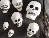 The interior Skulls for Halloween