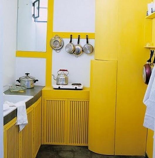 1-bright yellow kitchen