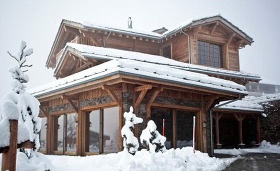 1-snow-covered chalet