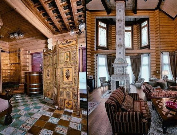 Russian style home designs
