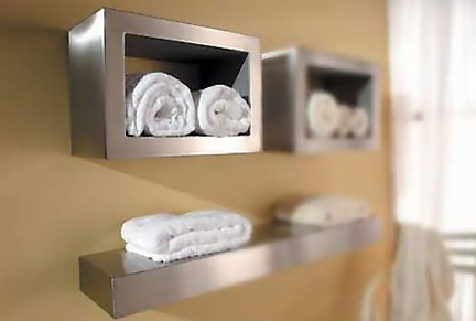 2-beautiful shelves for towels