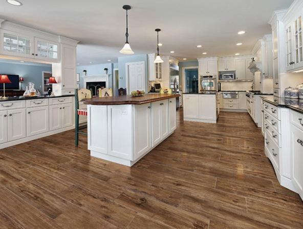 Wood Tile Kitchen Floor Thefloors Co
