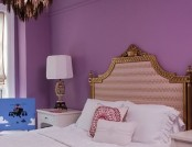 Purple color in the interior