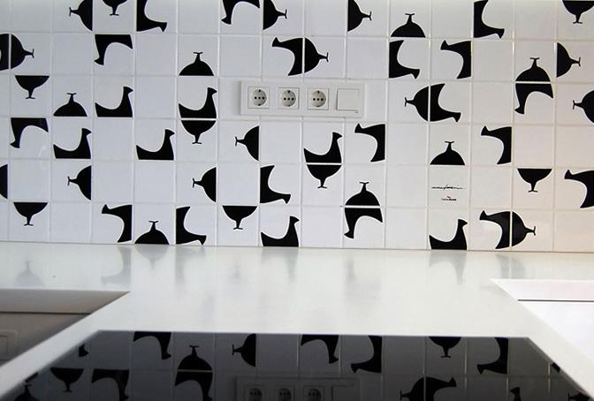 4-birdies on the tile
