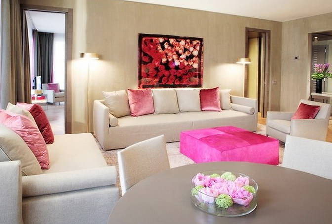 4-pink ottoman