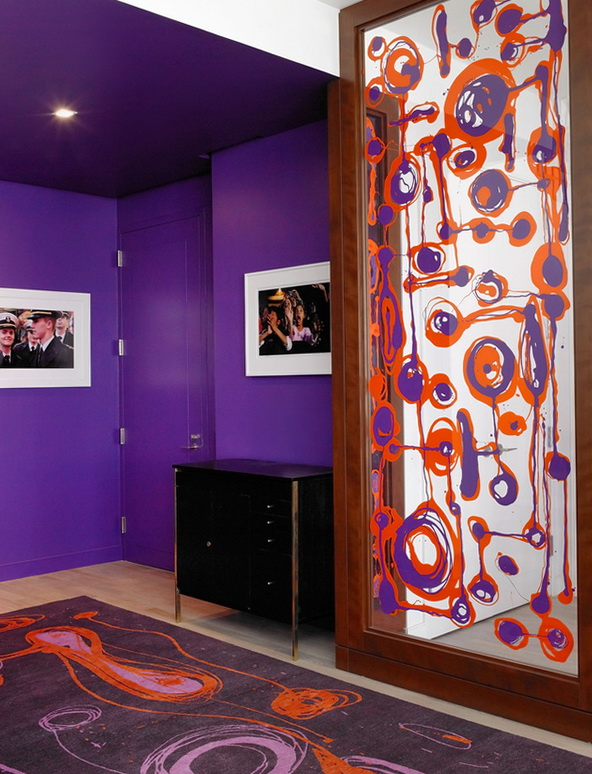 4-purple wall