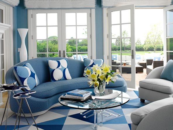 4-semicircular sofa